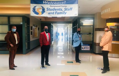 Homewood Staff Make Students Smile