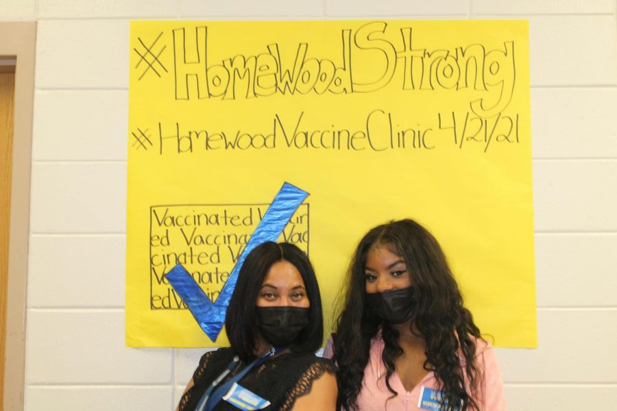 Photo Essay of Homewood's Community Vaccine Clinic